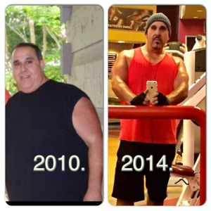 Comedian Michael Wheels Parise is going from fat to fit