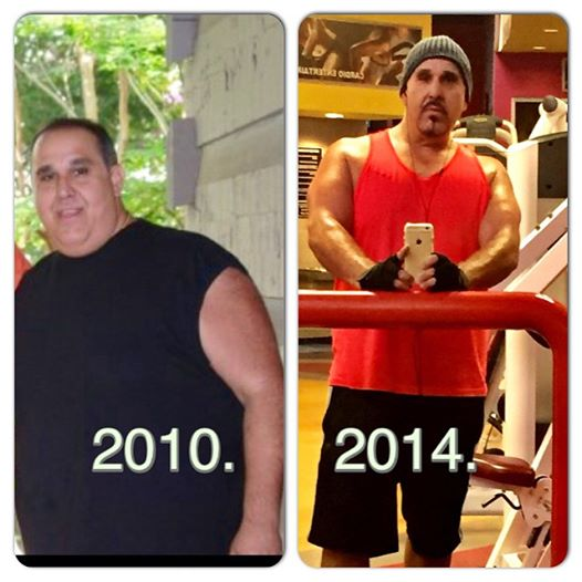 Michael Wheels Parise is going from Fat to Fit! He chose to live!