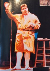 Michael Wheels Parise, Westbury Music Fair, July 10th 1993 Andrew Dice Clay's No Aplogies Pay getting a standing ovation in front of a sold out crowd